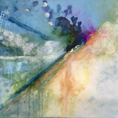 Blue uncertanty - Syil Art